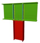 Assemblages poteau-poutre avec poutre passant par le nœud pour les modules Assemblages I, Assemblages II, Assemblages III et Assemblages IV