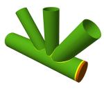 Assemblage en coude KT dans le module Assemblages V